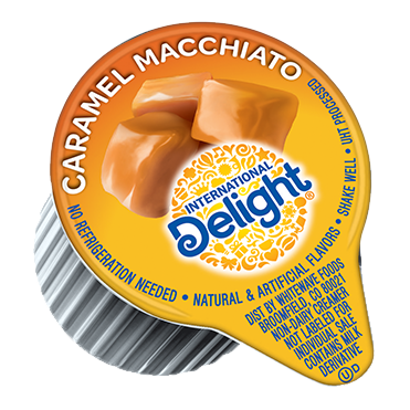 International Delight Coffee Creamer Single, Caramel Macchiato