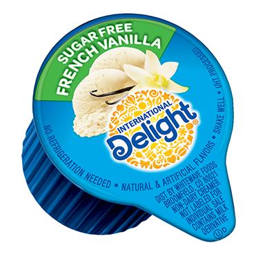 International Delight Coffee Creamer Single, Sugar Free French Vanilla