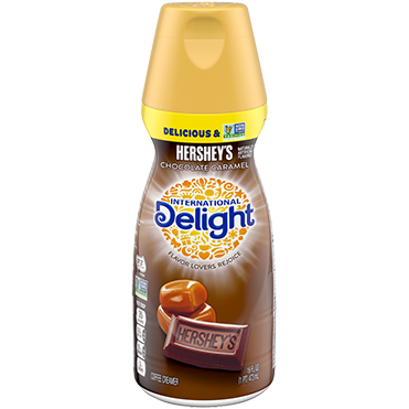 International Delight Coffee Creamer, Hershey Chocolate Caramel 16oz