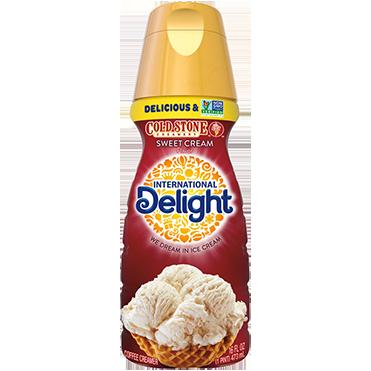 International Delight Coffee Creamer, Cold Stone Creamery Sweet Cream 16oz
