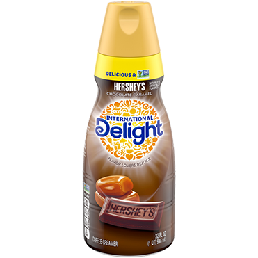 International Delight Coffee Creamer, Hershey Chocolate Caramel 32oz