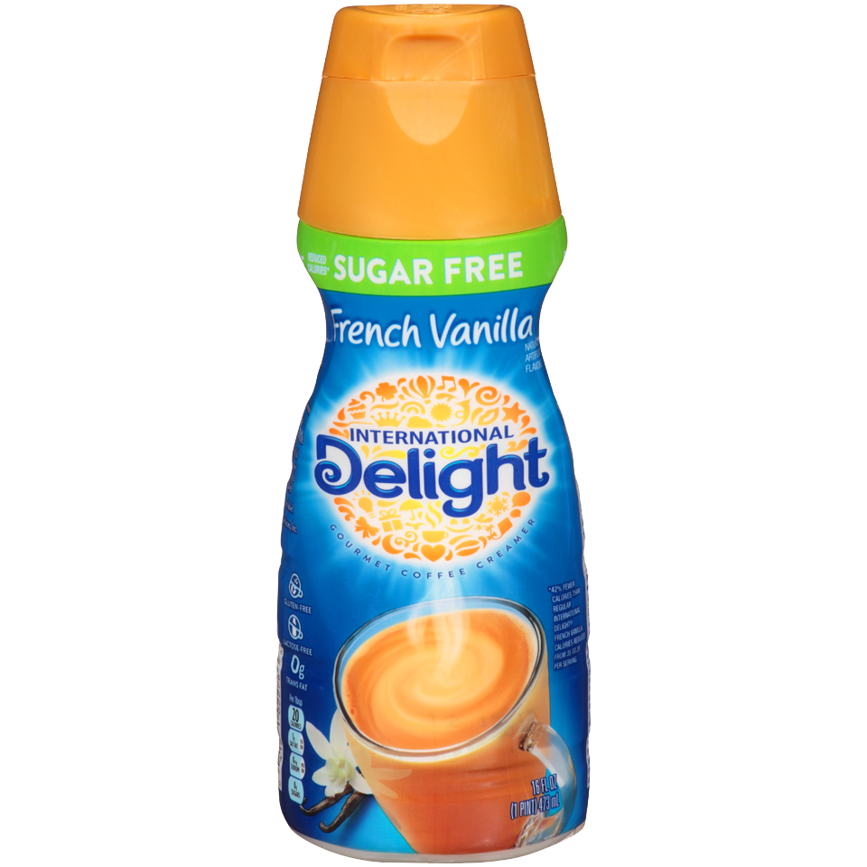 International Delight Coffee Creamer, Sugar Free French Vanilla 16oz
