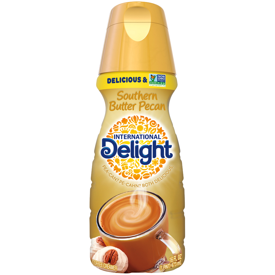 International Delight Coffee Creamer, Southern Butter Pecan 16oz
