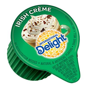 International Delight Coffee Creamer Single, Irish Crème Café