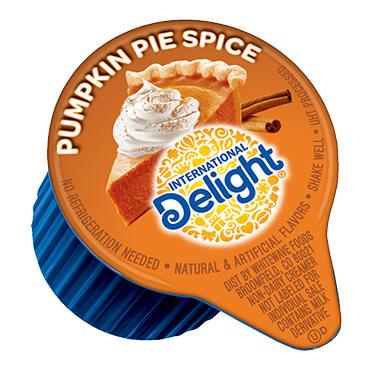 International Delight Coffee Creamer Single, Pumpkin Pie Spice