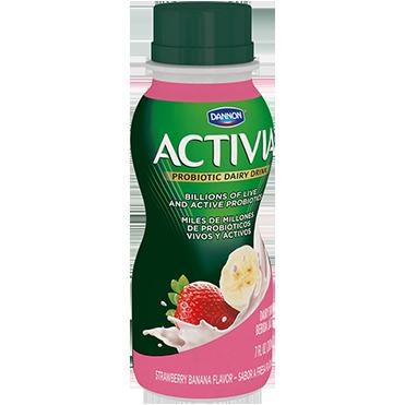 Activia Yogurt Drink, Strawberry Banana
