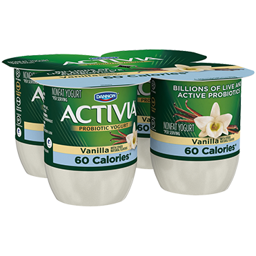 Activia Light Yogurt, Vanilla 4oz