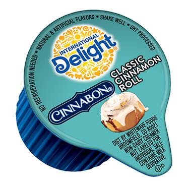 International Delight Coffee Creamer Single, Cinnabon