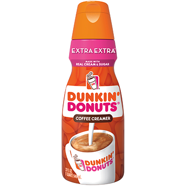 Dunkin Donuts Coffee Creamer, Extra Extra 32oz