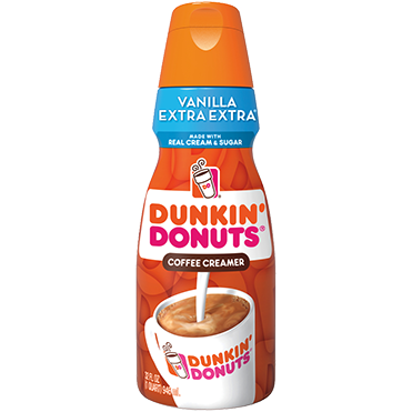 Dunkin Donuts Coffee Creamer, Vanilla 32oz