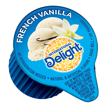 International Delight Coffee Creamer Single, French Vanilla