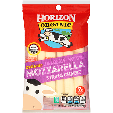 Horizon Organic Mozzarella Sticks, 6-pack