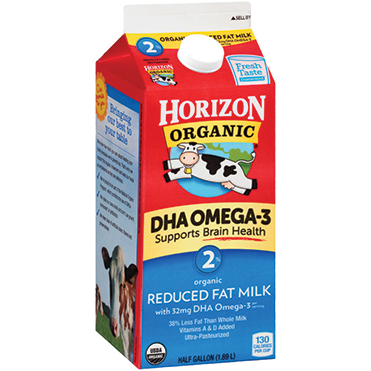 Horizon Organic 2% Milk, Half Gallon
