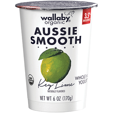 Wallaby Lowfat Yogurt, Key Lime 6oz