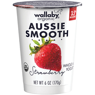 Wallaby Lowfat Yogurt, Strawberry 6oz