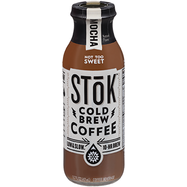 SToK Cold Brew Coffee, Mocha 13.7oz
