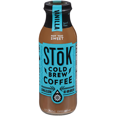 SToK Cold Brew Coffee, Vanilla 13.7oz