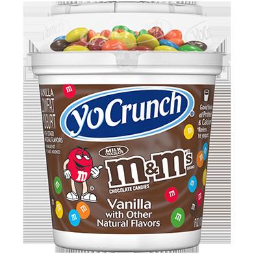 YoCrunch Lowfat Yogurt with M&Ms®, 6oz