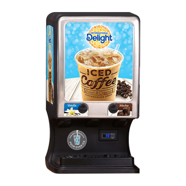225 International Delight Iced Coffee Dispenser