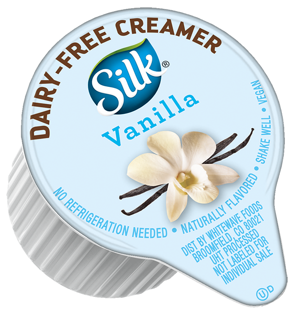 Silk Dairy-Free Vanilla Creamer Single