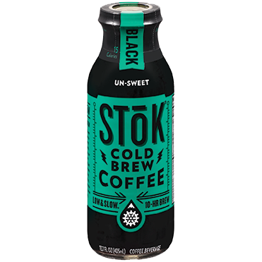 SToK Cold Brew Coffee, Black 13.7oz