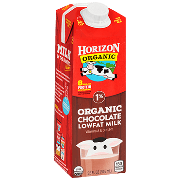 Horizon Organic 1% Chocolate Milk, Aseptic Quart