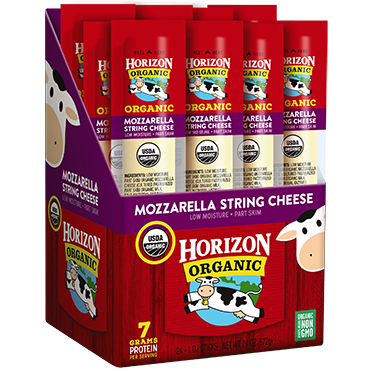 Horizon Organic Single Serve Mozzarella Sticks, 24-pack