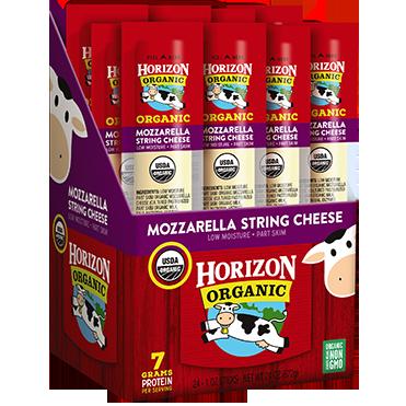 Horizon Organic Single Serve Mozzarella Sticks, 24-pack