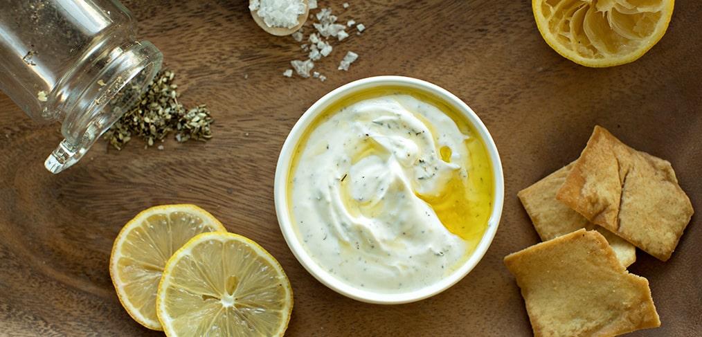 Lemon Za'atar Yogurt Dip