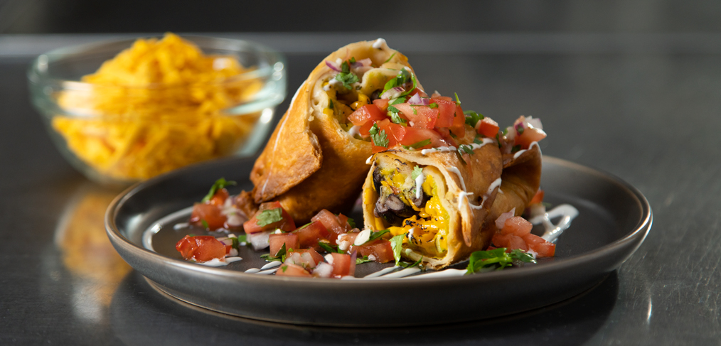 Plant-Based Chimichanga