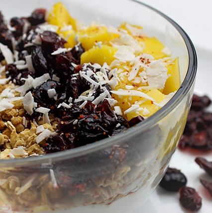 Mango Con Coco Bowl