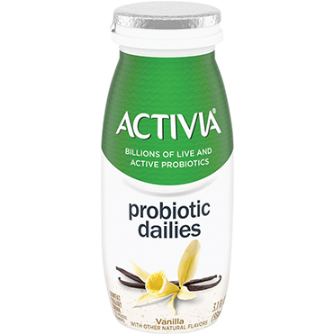 Activia Probiotic Dailies Yogurt Drink, Vanilla, 3.1oz