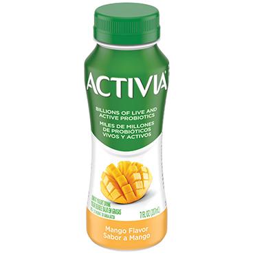 Activia Probiotic Dairy Drink, Mango 7oz