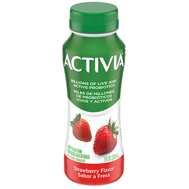 Activia Probiotic Dairy Drink, Strawberry 7oz