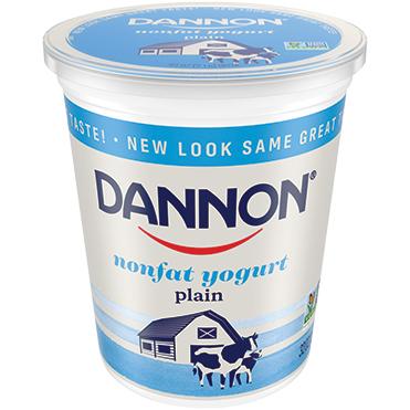 Dannon Nonfat Plain Yogurt, 32oz