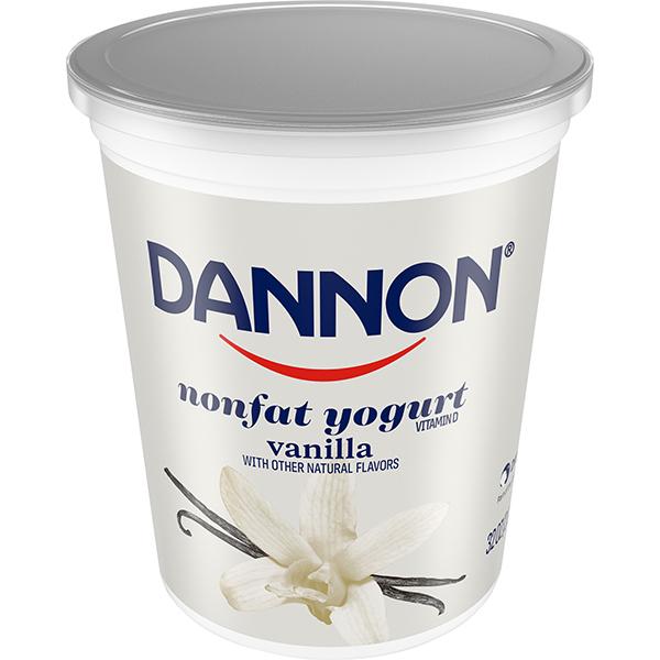 Dannon Nonfat Yogurt, Vanilla 32oz