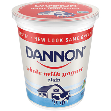 Dannon Whole Milk Plain Yogurt, 32oz