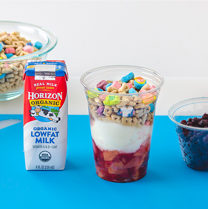 Fruity Yogurt Parfait