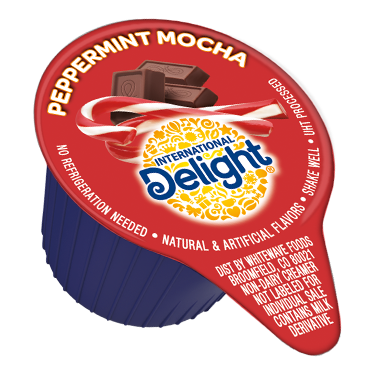 International Delight Coffee Creamer Single, Peppermint Mocha
