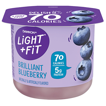 Light + Fit Nonfat Yogurt, Blueberry 5.3oz