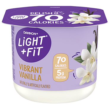 Light + Fit Nonfat Yogurt, Vanilla 5.3oz