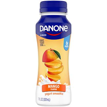 Danone Nonfat Yogurt Smoothie, Mango 7oz