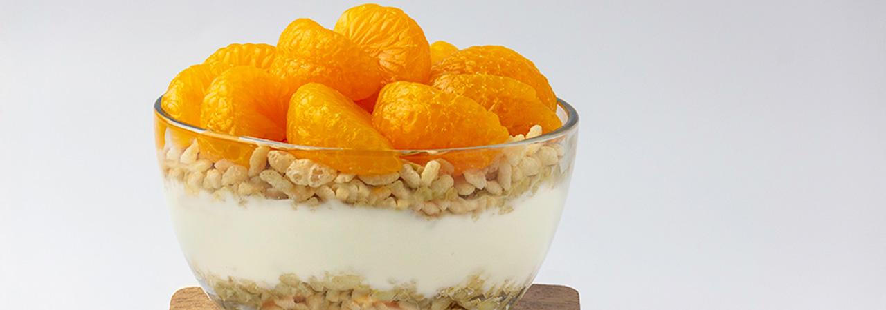 Orange Creamsicle Breakfast Parfait