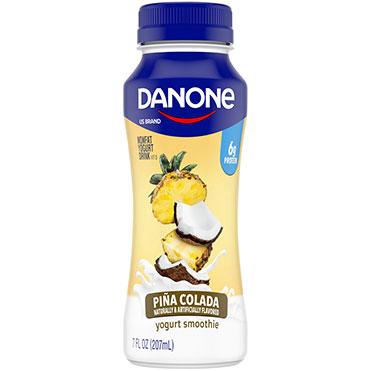 Danone Nonfat Yogurt Smoothie, Pina Colada 7oz