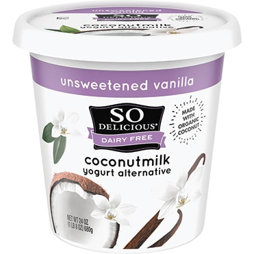 So Delicious® Unsweetened Vanilla Coconutmilk 24 oz. Dairy-Free Yogurt Alternative