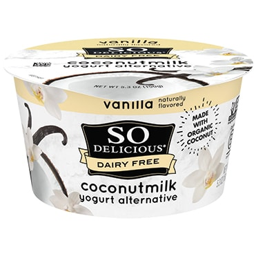So Delicious® Vanilla Coconutmilk 5.3 oz. Dairy-Free Yogurt Alternative