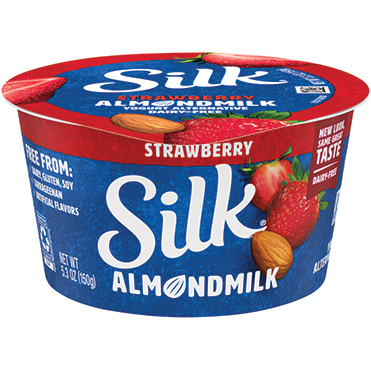 Silk Almondmilk Yogurt Alternative, Strawberry 5.3oz