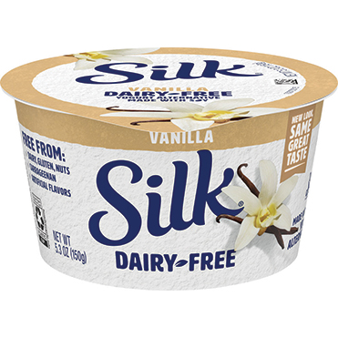 Silk Soymilk Yogurt Alternative, Vanilla 5.3oz