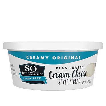 So Delicious<sup>®</sup> Dairy Free Cheese Alternative, Original Cream Cheese Style Spread