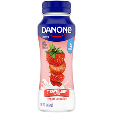 Danone Nonfat Yogurt Smoothie, Strawberry 7oz